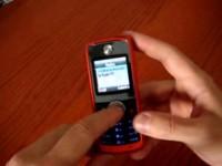 Видео обзор Motorola W230