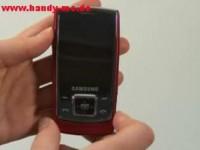Видео обзор Samsung SGH E840 - Дизайн