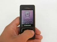 Видео обзор Samsung F300