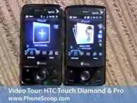 Видео обзор HTC Touch Diamond от PhoneScoop