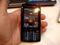Видео обзор Sony Ericsson W960i от CellulareMagazine.it