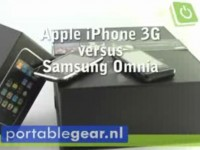 Видео сравнение Apple iPhone 3G vs Samsung Omnia