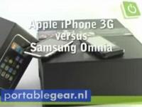 Видео сравнение Apple iPhone 3G vs Samsung Omnia