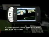 Демо видео HTC P4350 Herald
