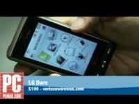 Видео обзор LG Dare