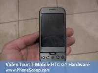 Видео обзор T-Mobile HTC G1 от PhoneScoop