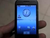 Видео обзор HTC G1 Android - Начинка - от PhoneScoop