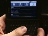 Демонстрация возможностей T-Mobile G1 - Контакты