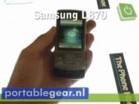 Видео обзор Samsung L870