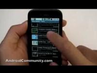 Демонстрация возможностей T-Mobile G1 - YouTube и Музыка