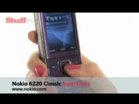 Видео обзор Nokia 6220 Classic от Stuff.tv