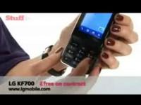 Видео обзор LG KF700 от Stuff.tv