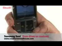 Видео обзор Samsung Soul от Stuff.tv