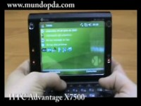 Видео обзор HTC Advantage X7500