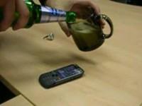 Краш-тест Motorola ZN5 - Пиво