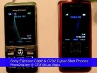 Видео сравнение: Sony Ericsson C902 и Sony Ericsson C702