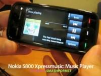 Демонстрация возможностей Nokia 5800 XpressMusic - Аудио плеер