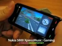 Демонстрация возможностей Nokia 5800 XpressMusic - Игры