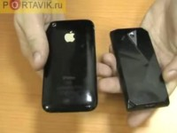 Видео сравнение HTC Touch Diamond vs Apple iPhone 3G от Portavik.ru