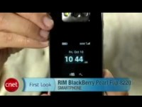 Видео обзор RIM BlackBerry Pearl Filp 8220 от cNet