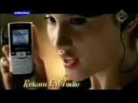 Рекламный ролик Samsung B200
