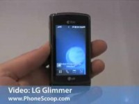 Видео обзор LG Glimmer от PhoneScoop