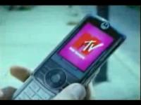 Коммерческая реклама Motorola Rokr Z6M