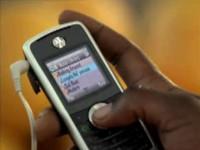 Коммерческая реклама Motorola W230