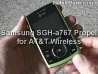 Видео обзор Samsung SGH-A767 Propel