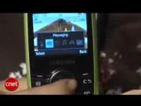 Видео обзор Samsung Propel от cNet