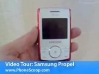 Видео обзор Samsung Propel от PhoneScoop
