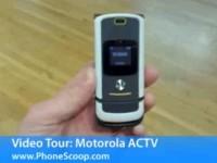 Видео обзор Motorola MOTOACTV от PhoneScoop