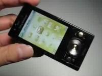 Видео обзор Sony Ericsson G705