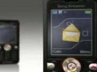 Демо-видео Sony Ericsson V630