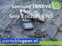 Samsung INNOV8 vs. Sony Ericsson C905