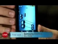Видео обзор Samsung Eternity от cNet