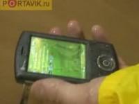 Краш-тест HTC P3300 от Portavik
