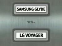 Samsung Glyde vs LG Voyager