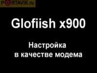 Настройки от Portavik.ru: Eten Glofiish X900 в роли модема