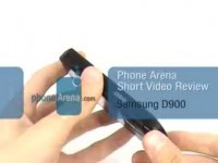 Видео обзор Samsung SGH-D900B от PhoneArena.com