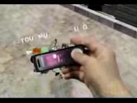 Рекламный ролик Samsung SGH-F210