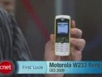 Видео обзор Motorola W233 Renew