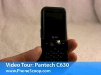 Видео обзор Pantech C630 от PhoneScoop
