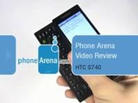 Видео обзор HTC S740 от PhoneArena