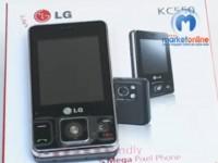 Видео обзор LG KC550