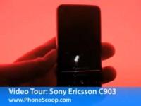 Видео обзор Sony Ericson C903