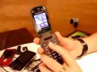 Видео обзор Sony Ericsson Z320i