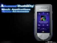Коммерческое видео Samsung BEAT M6710