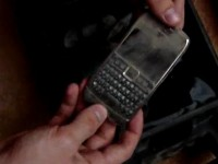 Краш-тест Nokia E71: Пыль