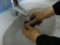 Краш-тест Nokia 5800: Вода
